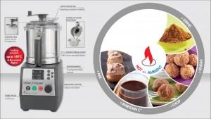 НОВИНКА! Первая кухонная машина с подогревом для профессионального использования! Куттер-блендер ROBOT COOK производства ROBOT COUPE