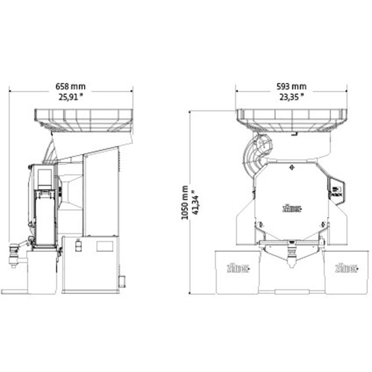 Автоматическая соковыжималка для апельсинов ZumeX Speed Pro