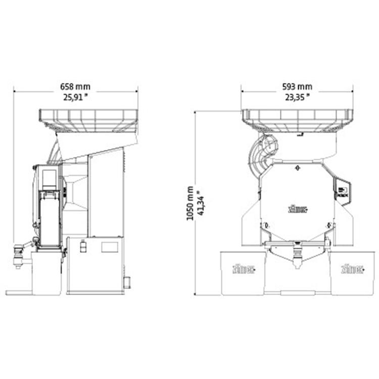 Автоматическая соковыжималка для апельсинов ZumeX Speed Self-Service