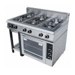 Плита газовая 6-ти горелочная Grill Master Ф6ПДГ/800, арт. 50004