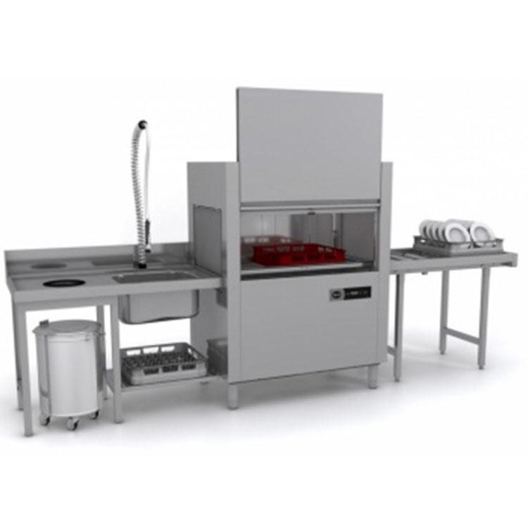 Машина посудомоечная  туннельная Apach ARC100 (Т101) доз/CW+суш лп