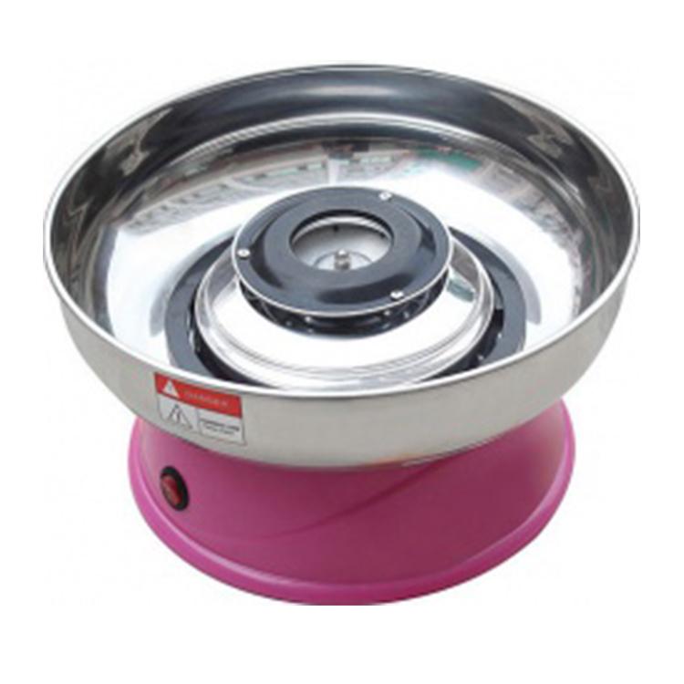 Аппарат для приготовления сахарной ваты STARFOOD ET-MF-08 ( диам.290 мм), розовый