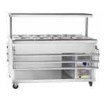 Прилавок холодильный Abat  ПВВ(Н)-70ПМ-01-НШ