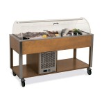 """Стол для выкладки """"рыбы на льду"""" MetalCarrelli 6930.3RAL (цвет по RAL)"""