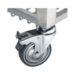 Комплект колёс для подставки под печи SMEG RUTVL
