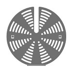 Комплект SMEG 3921 для уменьшения скорости воздушного потока вентилятора (3 шт.)