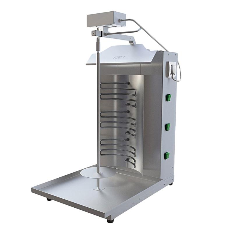 Аппараты для приготовления шаурмы электрический Atesy Шаурма-3 ЭЛ М