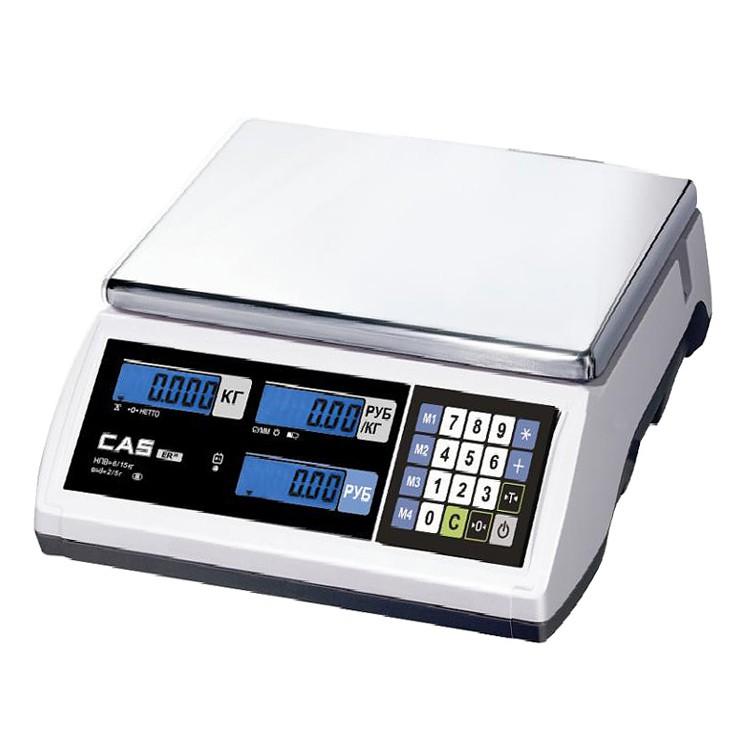 Весы электронные Cas ER-Jr-15CB