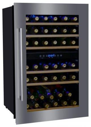 Винный шкаф Dunavox DX-41.130BSK