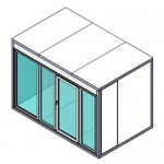 КХН-8,81 Ст (стекл. блок с одностворчатой дверью по сторо 1960)
