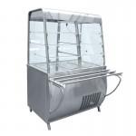 Прилавок-витрина холодильный ПВВ(Н)-70Т-С-01 с гастроёмкостями