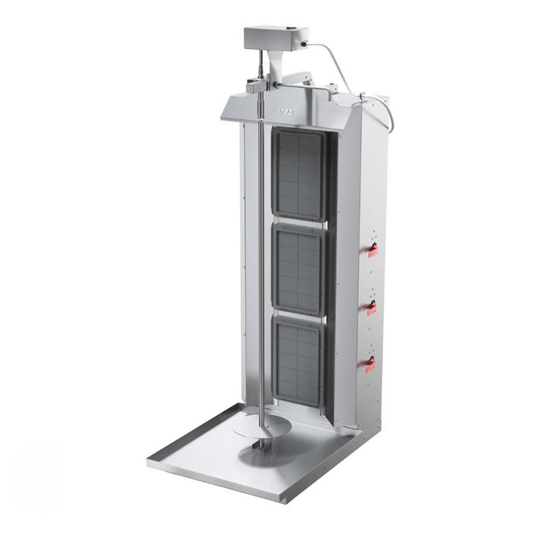 Аппараты для шаурмы газовый Atesy Шаурма-3М (с электроприводом)