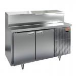 Стол охлаждаемый для пиццы Hicold PZ1-11/GN (1/3H)