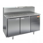 Стол охлаждаемый для пиццы Hicold PZ2-11/GN (1/6H) камень