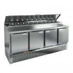 Стол охлаждаемый для пиццы Hicold PZE2-1111/GN (1/6H)