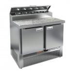 Стол охлаждаемый для пиццы Hicold PZE1-11/GN (1/3H) камень