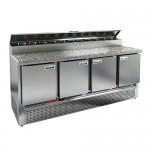 Стол охлаждаемый для пиццы Hicold PZE2-1111/GN (1/6H) камень