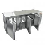 Стол охлаждаемый со сквозными дверями Hicold GNT 111/HT