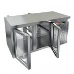 Стол охлаждаемый со сквозными дверями Hicold GNG T 11/HT