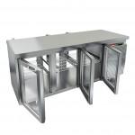 Стол охлаждаемый со сквозными дверями Hicold GNG T 111/HT