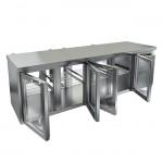 Стол охлаждаемый со сквозными дверями Hicold GNG T 1111/HT