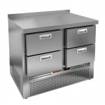 Стол охлаждаемый с нижним агрегатом Hicold SNE 22/TN