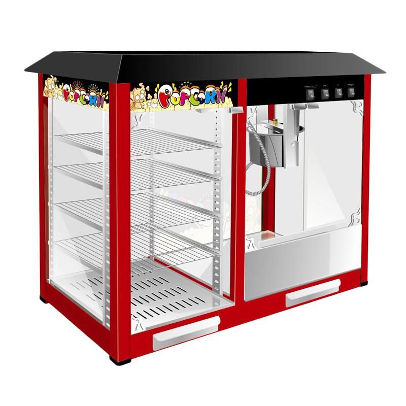 Аппарат для попкорна с витриной Eksi HW-P8