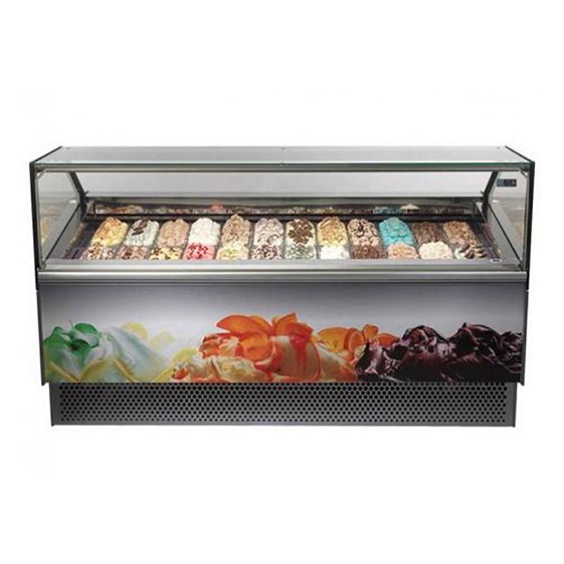Витрина для мороженого Isa Millennium SP STD 12+12  A