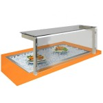 Встраиваемая ванна для льда Виола ВЛ-1355БХД